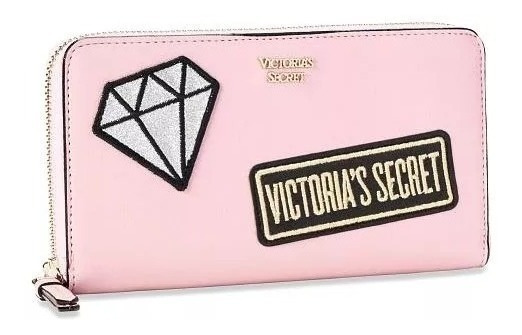 Billetera Victorias Secret Con Apliques Brillantes