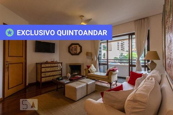 Apartamento No 5º Andar Mobiliado Com 4 Dormitórios E 2 Garagens - Id: 892947787 - 247787