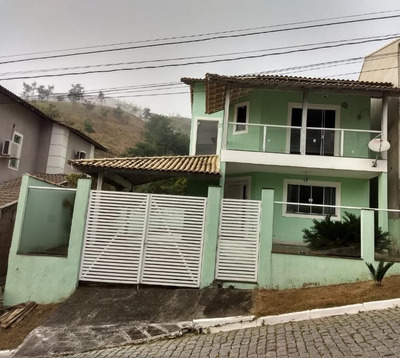 Casa Em Arsenal, São Gonçalo/rj De 130m² 3 Quartos À Venda Por R$ 370.000,00 - Ca214066