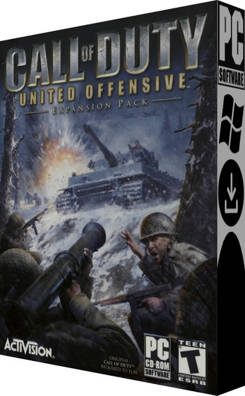 Call Of Duty & United Offensive - Pc - Mídia Digital