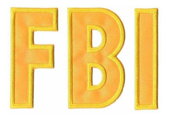 Patch Bordado - Fbi Eua Pl60027