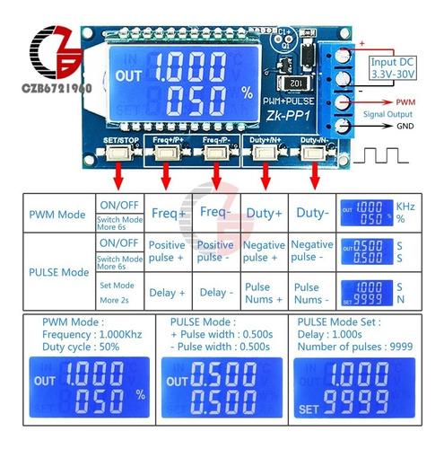 Generador De Frecuencia De 1 Hz A 150 Khz De 3.3v-30v Pwm