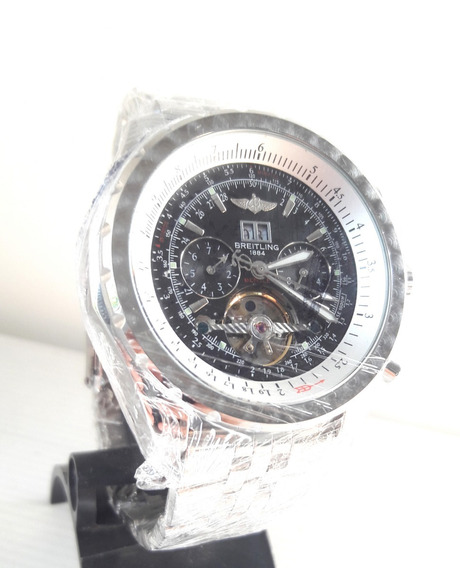 Relógio Breitling Breit Nav Automático Prata