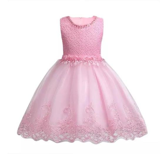 Vestido Infantil Festa Batizado Daminha Casamento