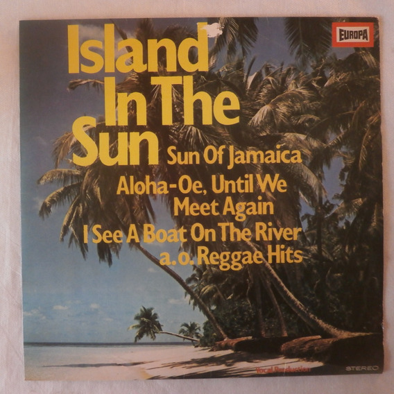 Lp Island In The Sun 1981, Disco De Vinil Coletânea