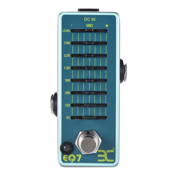 Eno Ex Eq7 Guitarra Equalizador Efeito Pedal 7- Banda Eq Com