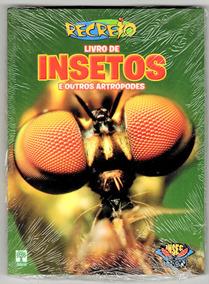 Livro De Insetos E Outros Artrópodes Recreio Ed.abril