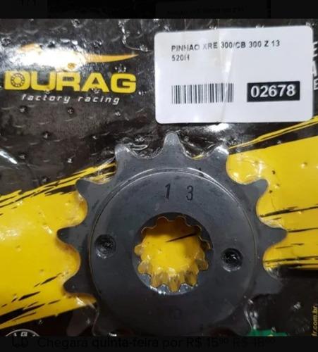 Imagem 1 de 1 de Pinhão Xre 300 Cb300 Cb 13 Dentes Passo 520 Durag Pinhao
