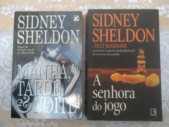 2 Livros Sidney Sheldon 34,99 Reais
