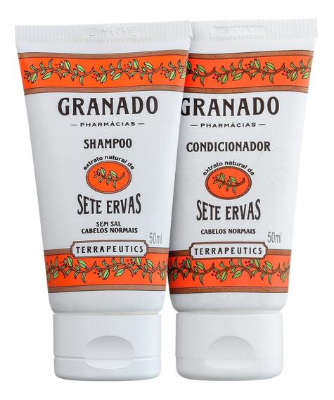 Kit Granado Sete Ervas Cabelo Normal (2 Produtos) Blz