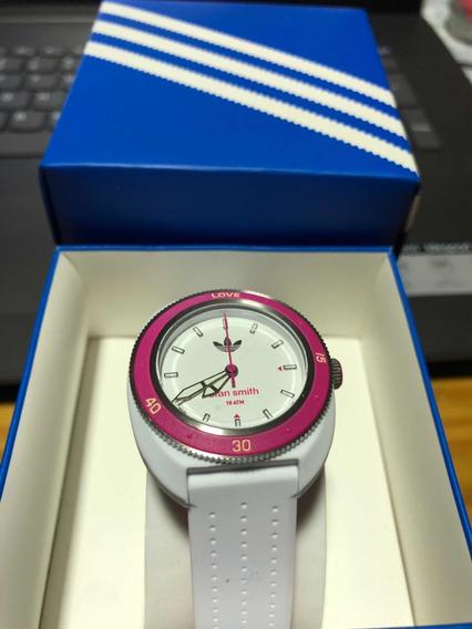 Relógio adidas Edição Especial Stan Smith Puls. Borracha