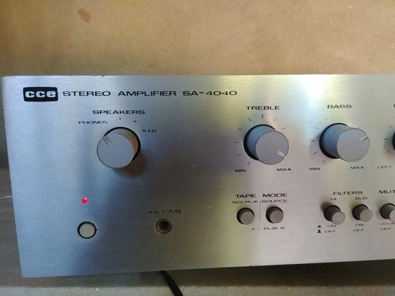 Amplificador Sa4040 Cce Kenwood,ñ Gradiente Polyvox Cygnus