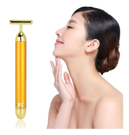 Masajeador Antiarrugas Rejuvenecedor Facial Vibracion /c