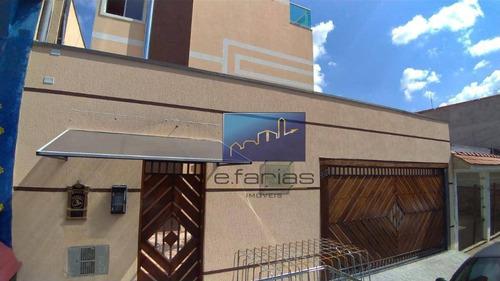 Studio Com 2 Dormitórios Para Alugar, 39 M² Por R$ 1.150,00/mês - Vila Granada - São Paulo/sp - St0285