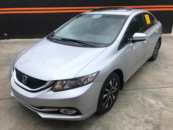 Honda Civic Ex 2015 Clean Carfax
