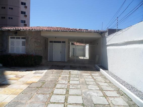 Casa Em Papicu, Fortaleza/ce De 495m² 4 Quartos Para Locação R$ 3.400,00/mes - Ca249033