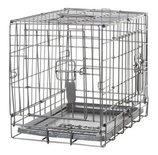 Jaula Plegable Dog It 2 Puerta Con Divisor Xsmall