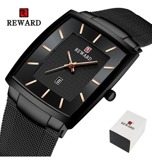 Relógio Reward Lindo Luxuoso E Resistênte Aço Inoxidável