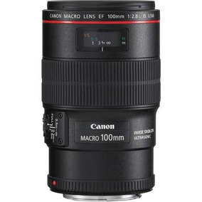 Lente Profissional Canon Ef 100mm F/2.8l Macro Is Usm **