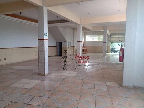 Imagem 1 de 3 de Salão Para Alugar, 250 M² Por R$ 5.000,00/mês - Vila Pirituba - São Paulo/sp - Sl0100