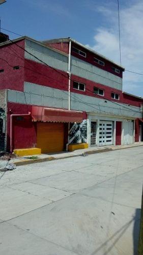 Casa Y Edificio Comercial En Venta A Unos Minutos De Texcoco