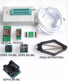 Gravadora Tl866cs Com 5 Adaptadores Mini Pro Tl866 Cs