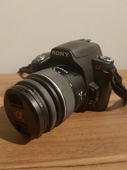 Câmera Sony Alpha A390 + Capa + 2 Baterias + Carregador