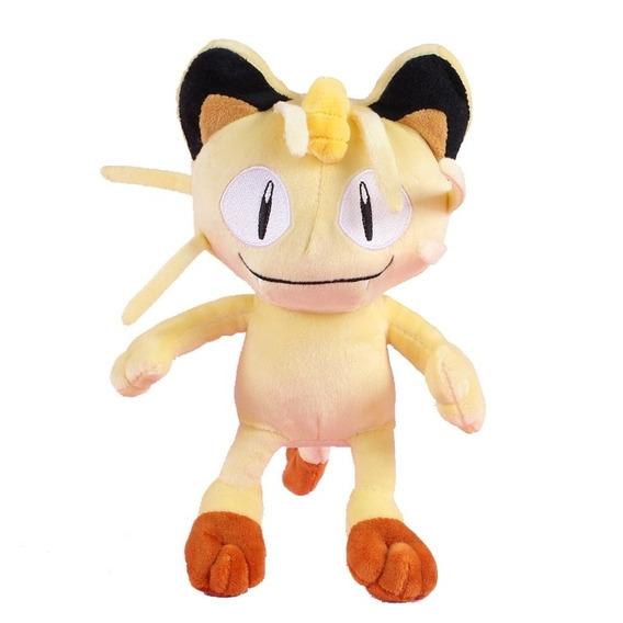 Meowth Pokémon Pelúcia 24cm Equipe Rocket Gato Pronta Entreg