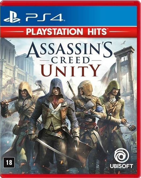 Assassins Creed Unity Ps4 Português Mídia Física Novo + Nf