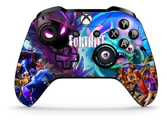 Adesivo De Customização Controle Xbox One Fortnite 2 Skins