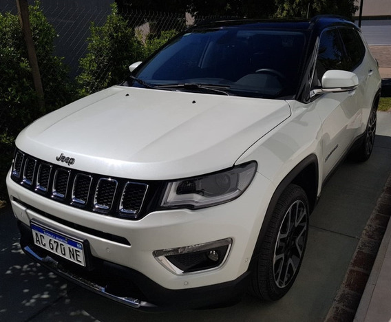 Jeep Compass Limited Plus 2018 Impecable Dueño Directo