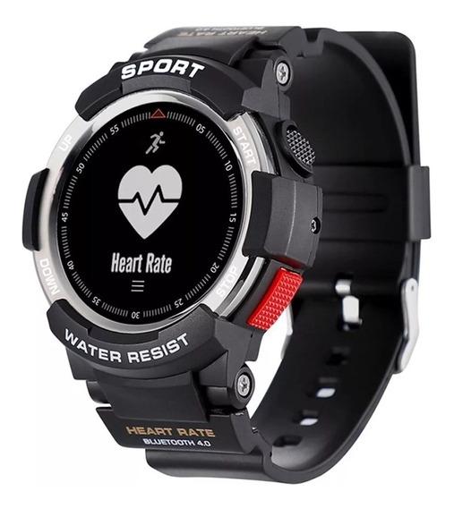 No.1 F6 Reloj Ip68 Sumergible Monitor Cardíaco Gps Podometro
