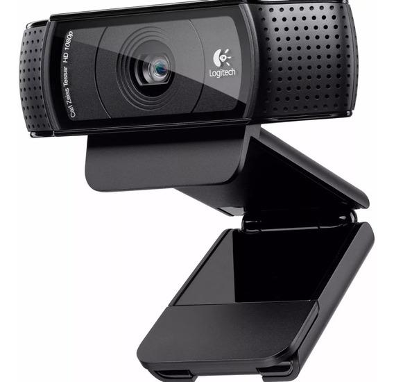 Webcam Logitech Pro C920 1080p Full Hd Micrófono Skype