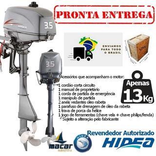 Motor De Popa Hidea 3.5 Hp 2 Tempos 0km ( Ñ Yamaha Mercury )