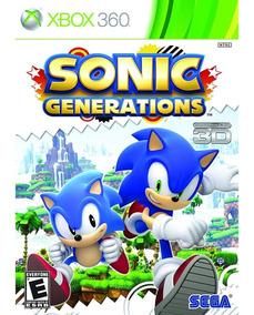 Sonic Generations Xbox 360 Mídia Física Lacrado Original