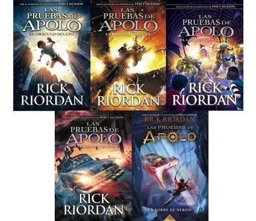 Saga Completa Las Pruebas De Apolo - Rick Riordan (5 Libros)