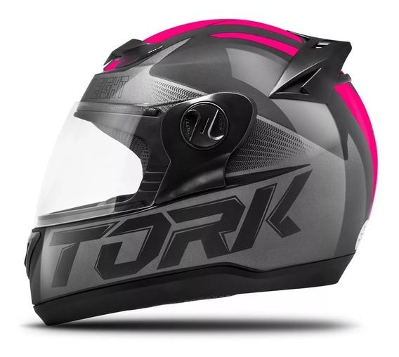 Capacete Moto Feminino Pro Tork G7 Evolution + Camisa Brinde