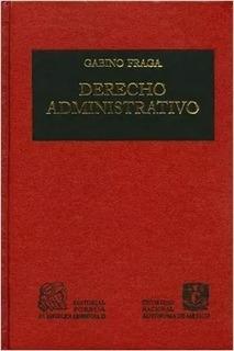 Libro Derecho Administrativo De Gabino Fraga Porrua