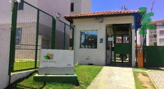 Apartamento Com 2 Dormitórios À Venda, 43 M² Por R$ 160.000 - Cidade Jardim - Jacareí/sp - Ap0075