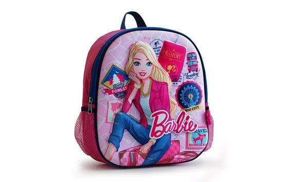 Mochila Barbie Jardin 12 3d + 33630c