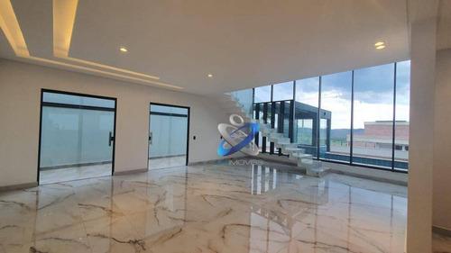Sobrado Com 4 Dormitórios À Venda, 472 M² Por R$ 2.350.000,00 - Condomínio Residencial Jaguary - São José Dos Campos/sp - So0673