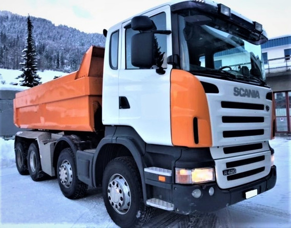 Scania Tatu P420 8x4