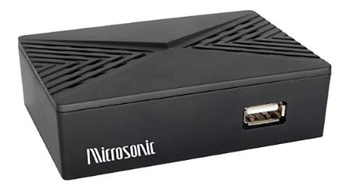 Sintonizador Tv Digital Isdbt Microsonic Full Hd Hdmi 1 Año