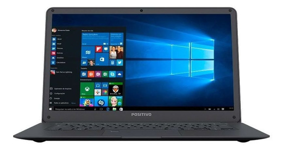 Notebook Positivo Motionplus Q432a 32g 4g Leitor Digital 14
