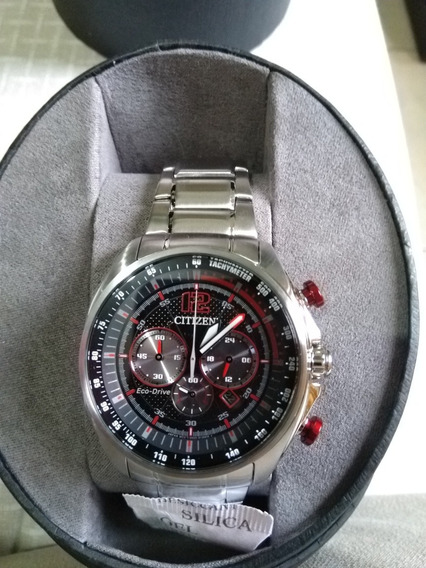 Reloj Citizen Eco-drive Modelo Ca4190-54e Cronógrafo Y Fecha