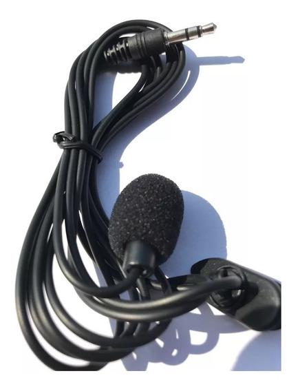 Microfone De Lapela Para Pc 3,5mm P2 Stereo