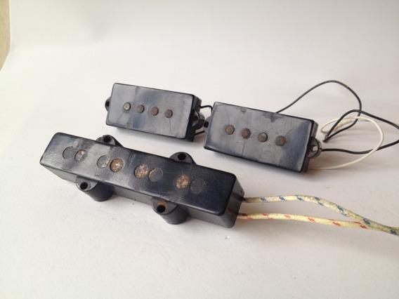 Micrófono Bajo Schaller Jazz Bass + Mic Precision Fender