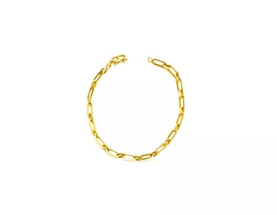 Pulseira Cartier Alternada 1x1 Em Ouro 18k (750)
