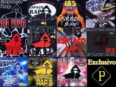 Espaço Rap Coleção Completo ( No Pen Drive)