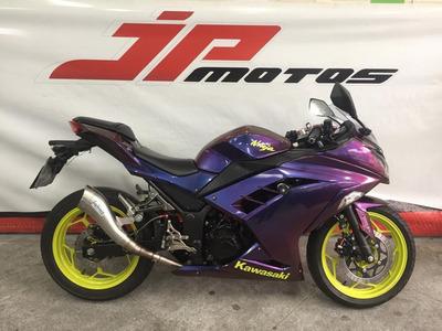 Kawasaki Ninja 300 Roxo 2015